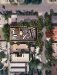 Big Bang Theory: Howard & Bernadette's wedding on Google Earth